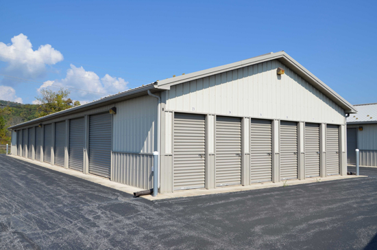 storage units at Valley Mini Storage