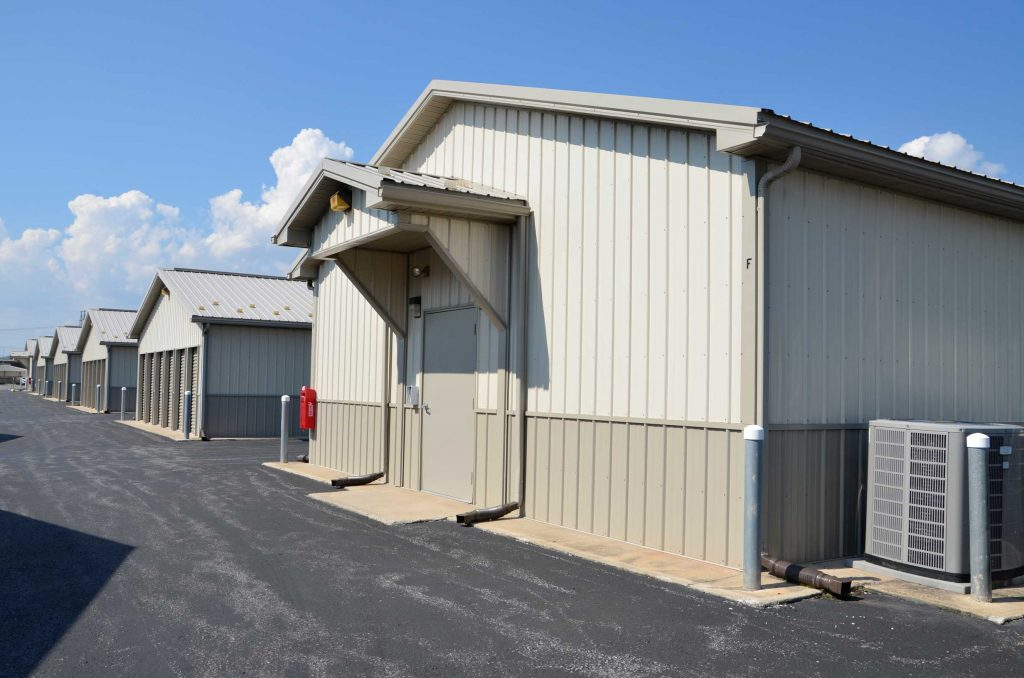 Temperature controlled storage units at Valley Mini Storage