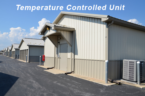 temperature controlled storage unit